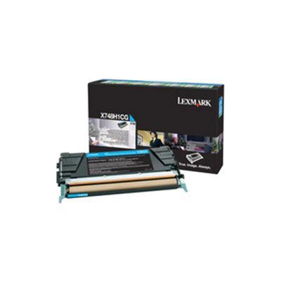 Lexmark X748 Return Programme Toner Cartridge High Yield Cyan X748H1CG