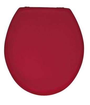 Wenko Prima Toilet Seat in Bordeaux