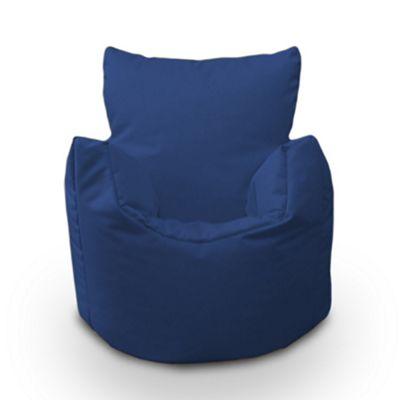 Blue Bean Chair Children's Kids Splashproof Indoor Outdoor Beanbag Garden Seat
