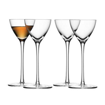 Iittala Aurora Cordial Glass Pair 0.03L