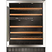 CDA FWC603SS 60cm 46 Bottle Free Standing Under Counter Wine Cooler