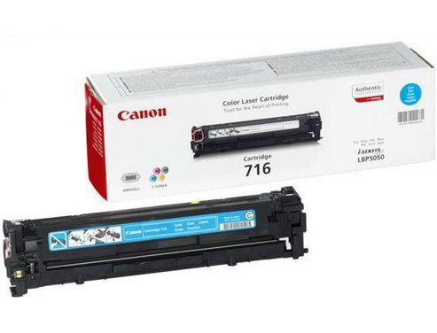 Canon 716 Toner Cartridge - Cyan