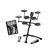 Roland TD-1K V-Drums Electronic Drum Kit With FREE Backbone Drums Tutorial Book And Play Along C.D Worth £15.99