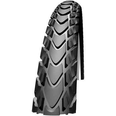 Schwalbe Silento Kevlar Guard SBC Compound Rigid Tyre in Black/Reflex - 26 x 1.75
