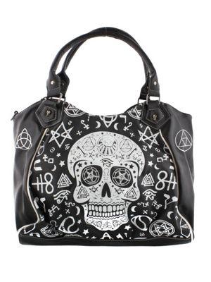 Banned Symbol Skull Women's Handbag