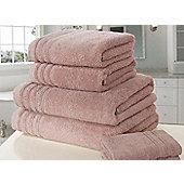 Zero Twist Hand Towel - Pink