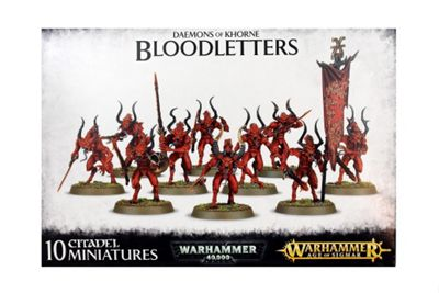 Warhammer Daemons of Khorne Bloodletters Model Kit