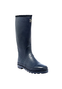 Regatta Mens Mumford Knee Rubber Wellies Blazer in Navy - Size 10 (UK)