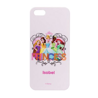 Disney Princesses Personalised White iPhone 5/5s Cover