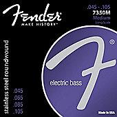 Fender Stainless Steel Bass Guitar Strings 7350M 45-105