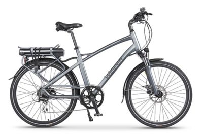 Wisper 905 Torque Cross Bar Electric Bike 11Ah Silver
