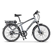 Wisper 905 Torque Cross Bar Electric Bike 11Ah Silver