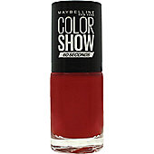 Maybelline Color Show Nail Polish 7ml - Paprika Pop