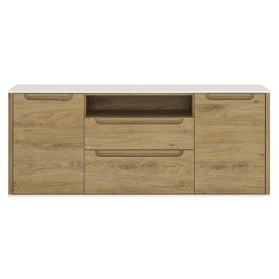 Gobi 2 Door 2 drawer wide TV cabinet