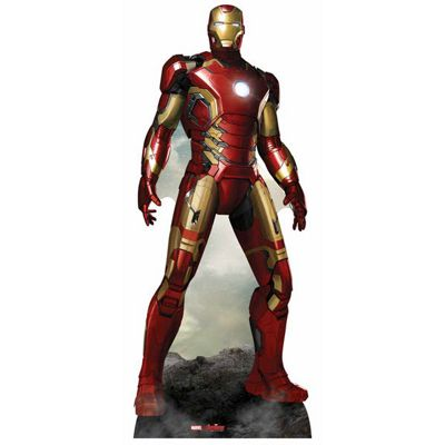 Iron Man Cardboard Cutout - 193cm