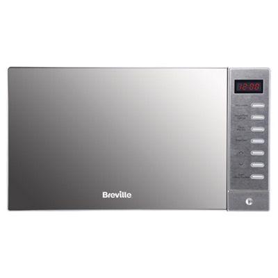 Breville Brsmw2016 20l Silver Solo Microwave