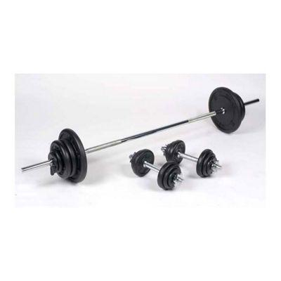 Body Power 72Kg 7FT Combi Standard Weight Set