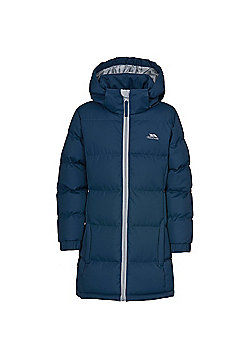Trespass Girls Tiffy Long Coat - Navy