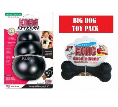 Big Dog Pack: Kong Extreme XXL + Kong Extreme Goodie Bone