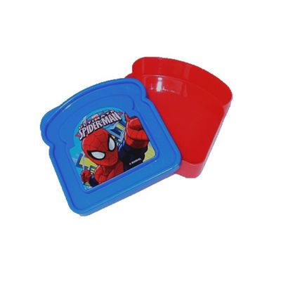 Spiderman 'Toast Shaped' Lunch Box