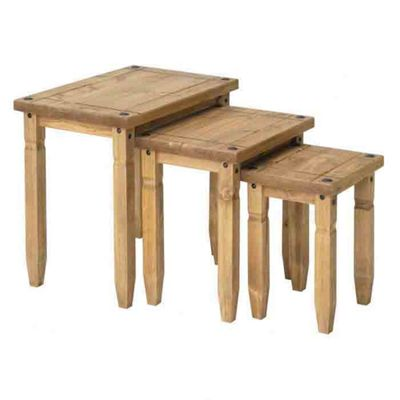 Home Essence Corona Nest of Three Tables