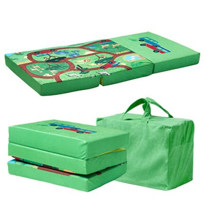 Ready Steady Bed Safari Design Children's Folding Playpen Mattress and Playmat