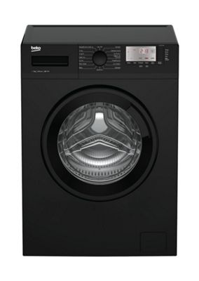 Beko Washing Machine, WTG721M1B, 1200 rpm, 7KG Load - Black