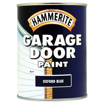 Hammerite Garage Door Paint Oxford Blue 0.75L