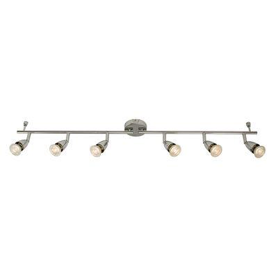 Amalfi 6 Light Bar 50W Spotlight Chrome Plate Lighting Decor