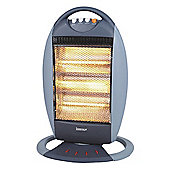 Igenix IG9512 1.2kW Halogen Heater - Grey