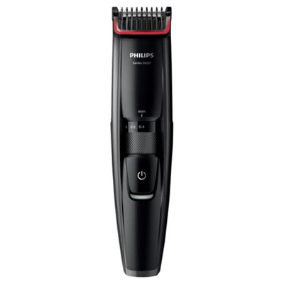 Philips BT5200 Series 5000 Mens Electric Stubble and Beard Trimmer - Black