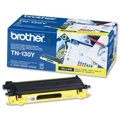 Brother TN130Y printer toner cartridge - Yellow