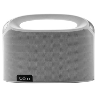 Bem Wireless Boom Box Speaker White
