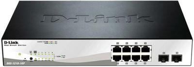 D-Link Web Smart DGS-1210 10-Port Managed Gigabit PoE Switch