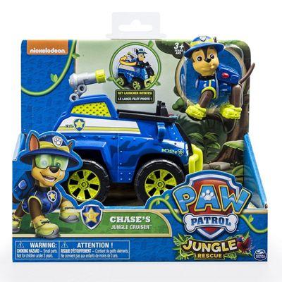 Paw Patrol Jungle Rescue - Chase's Jungle Cruiser