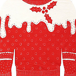 Cosy Christmas Jumper Napkin - 2ply - 20 Pack