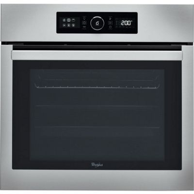 Whirlpool AKZ6270IX 600mm Built-in Single Electric Oven, Stainless Steel