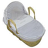 PreciousLittleOne Moses Basket (My Little Star Silver)