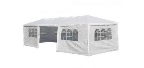 9x3m White Garden Party Tent Marquee Gazebo