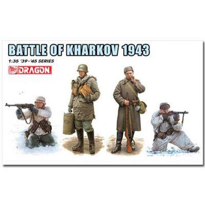 Dragon 6782 Battle Of Kharkov 1943 Figures Model Kit 1:35