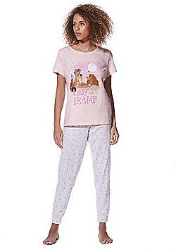 Disney Lady and the Tramp Pyjamas - Grey