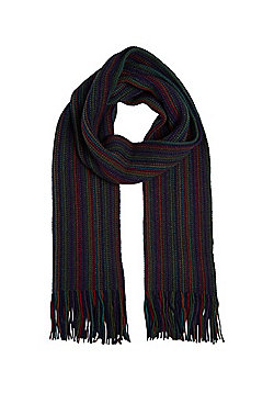 F&F Striped Tassel Scarf - Multi
