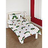 The Very Hungry Caterpillar 4 In 1 Junior Bedding Bundle (Duvet + Pillow + Covers)