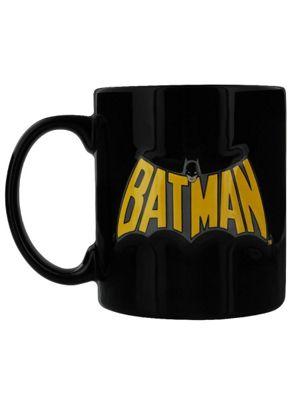 Batman Embossed 14oz Ceramic Mug