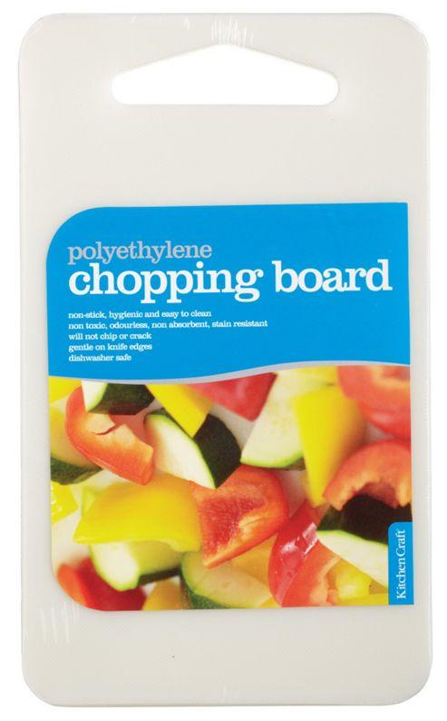 KitchenCraft Polyethylene Chopping Board - 28 cm