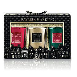 Baylis & Harding Festive Set of 3 Candles