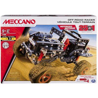 Meccano 25 Model Building Set Off Road Rally Jeep - 6037616