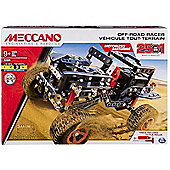 Meccano 25 Model Building Set Off Road Rally Jeep - 6037616