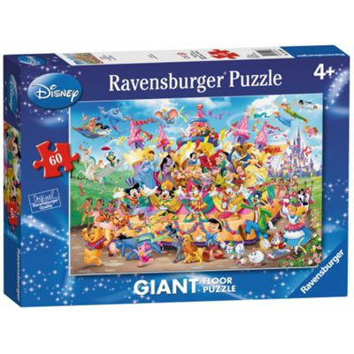 Disney Ravensburger 'Carnival' Giant 60 Piece Jigsaw Puzzle Game