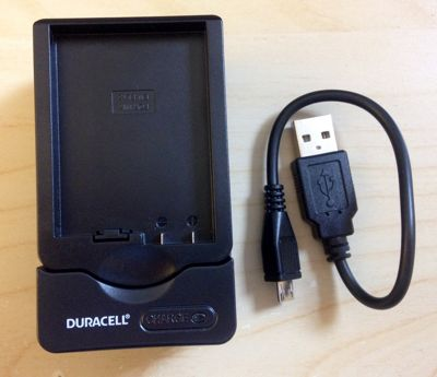 Duracell DRN5822 Indoor Outdoor Black mobile device charger